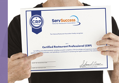 Certified Restaurant Professional